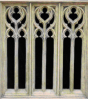 Small Decorative Triple Window