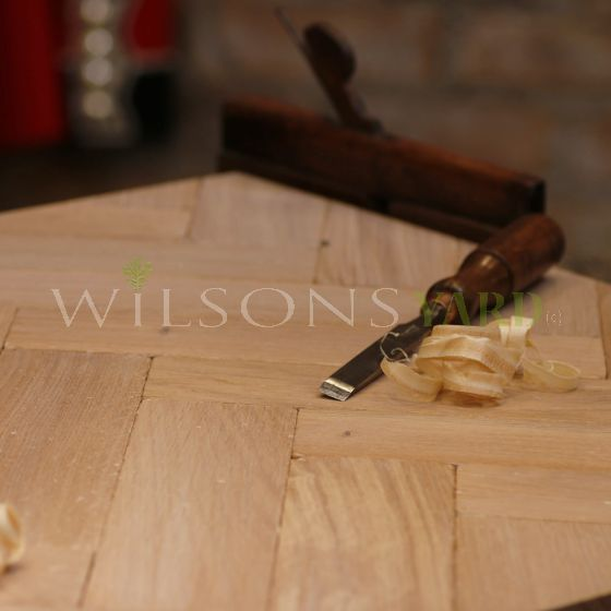 new herringbone wood flooring