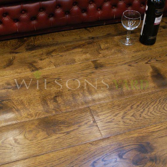 Prefinished Oak plank flooring