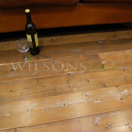 Wilsons Yard reclaimed flooring