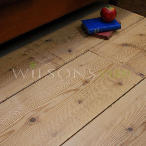 Reclaimed Pine wood flooring