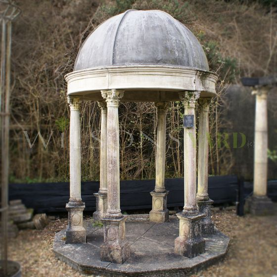 Antique style garden temple