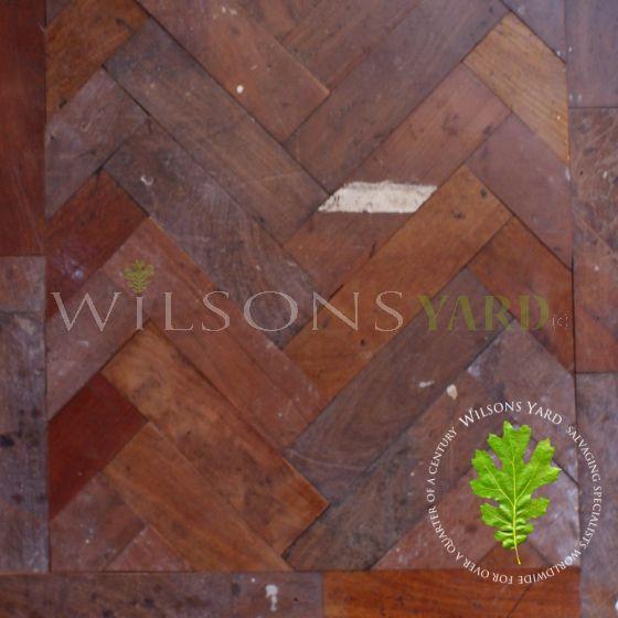 Rhodesian Teak woodblock cladding / flooring