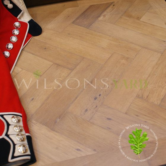 Reclaimed wood flooring London