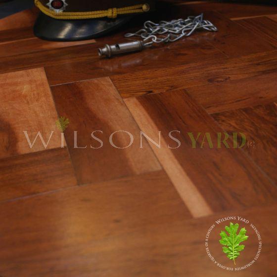 Teak Parquet wood flooring