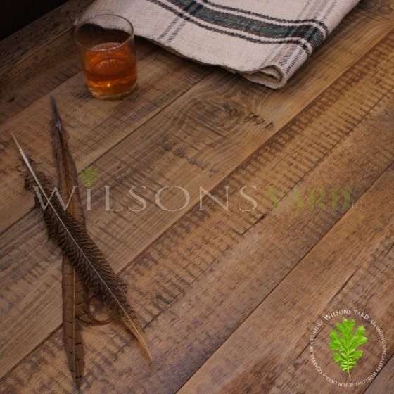 Reclaimed whiskey wooden flooring (Laquer)