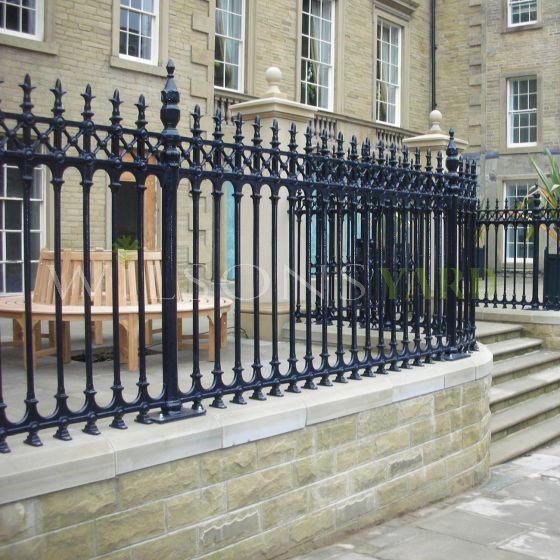 Sterling half height railing panels
