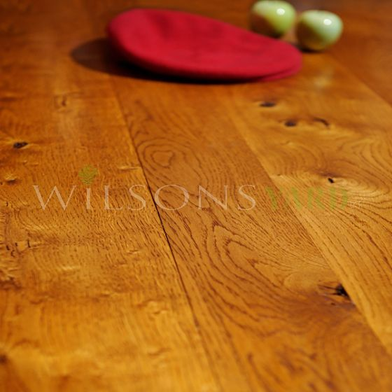 French solid oak wood flooring