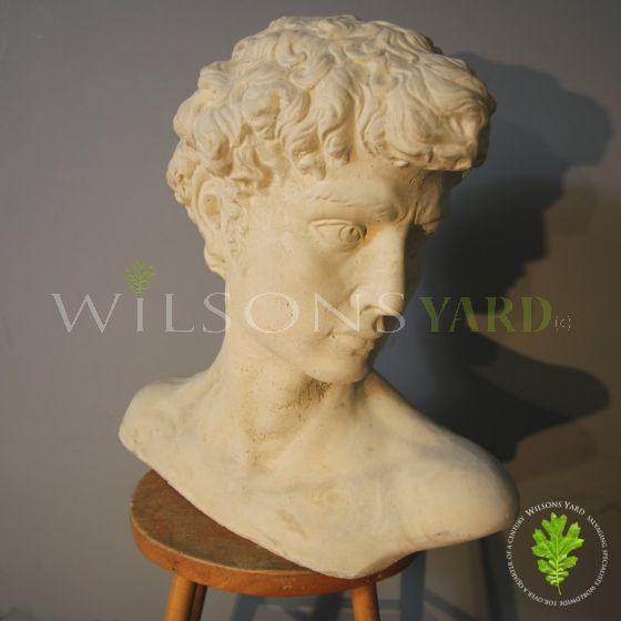 Antique roman bust Wilsons Yard