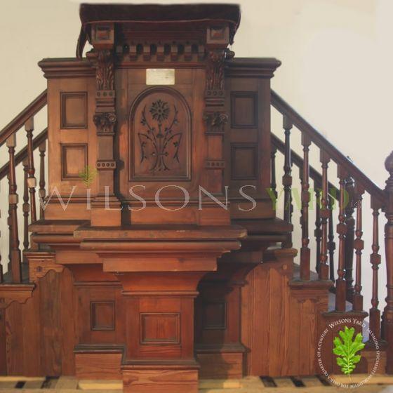 Antique Church pulpit