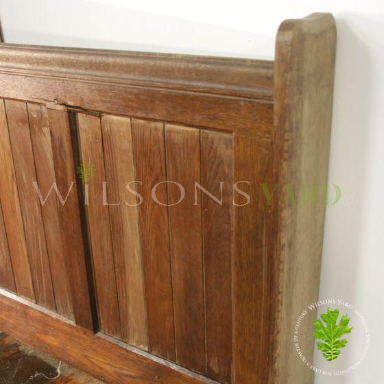 Church Oak paneling