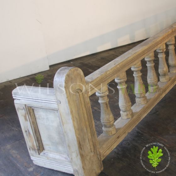 Reclaimed wooden bar fittings