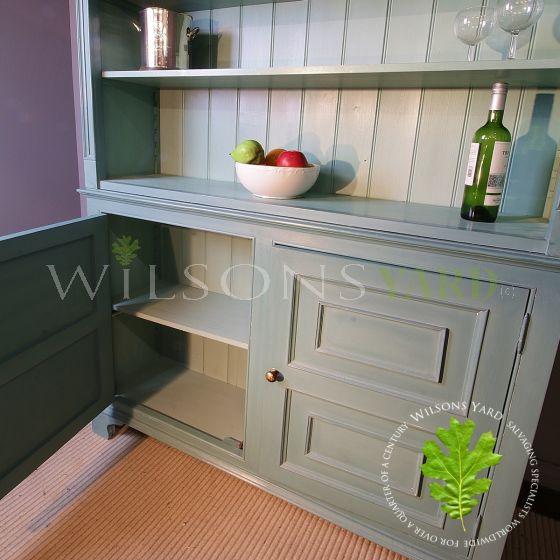 Bespoke kitchen dresser bookcase