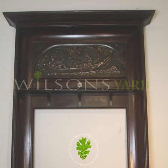 Irish bar fireplace surround