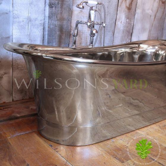 polished nickel bath