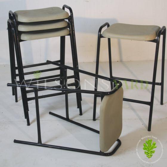 Vintage stacking stools