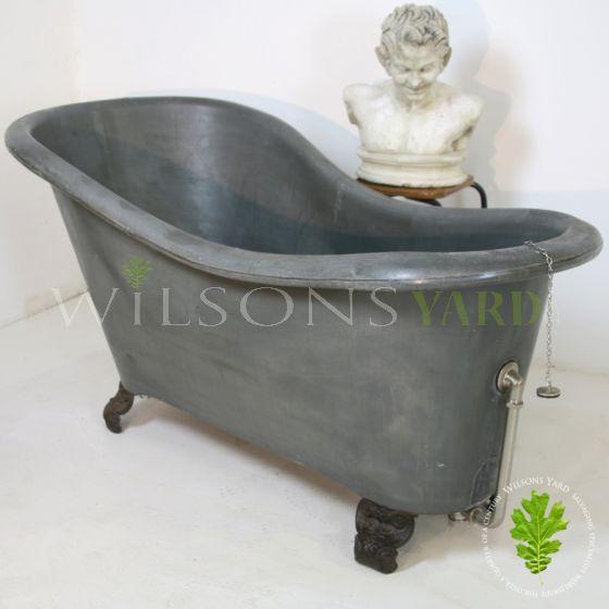 Antique tin slipper bath Dublin