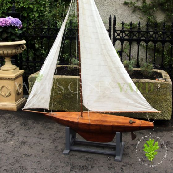Antique wooden Yacht