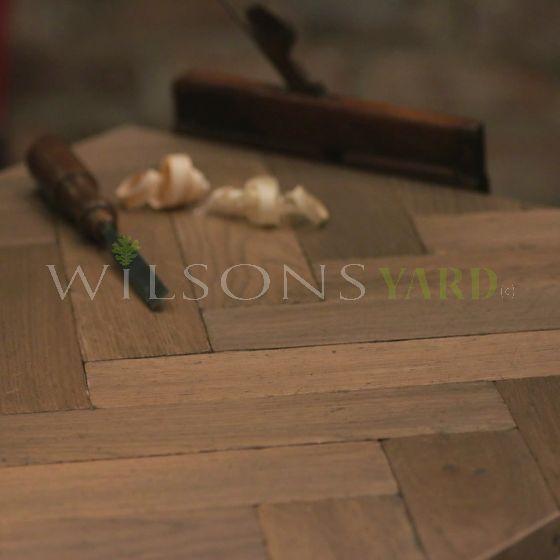 new woodblock flooring