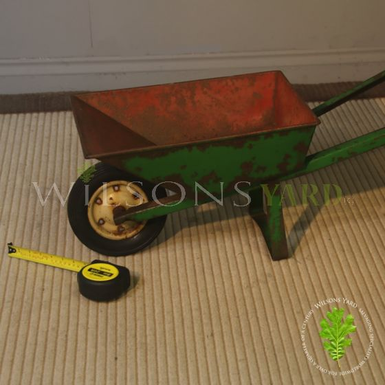 Vintage wheel barrow