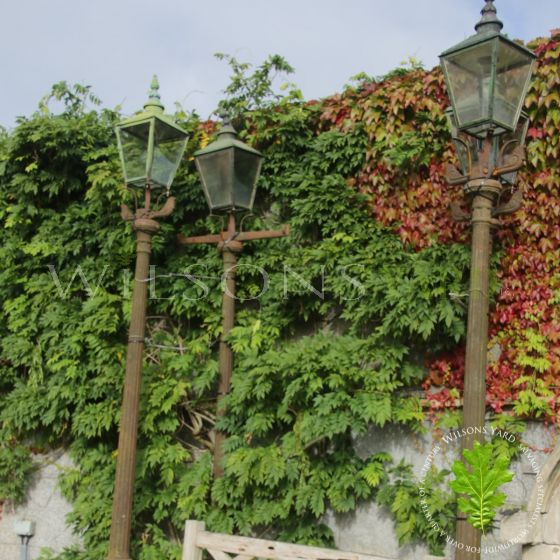Cast iron street lights