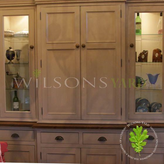 bespoke kitchen larder dispaly cabinet
