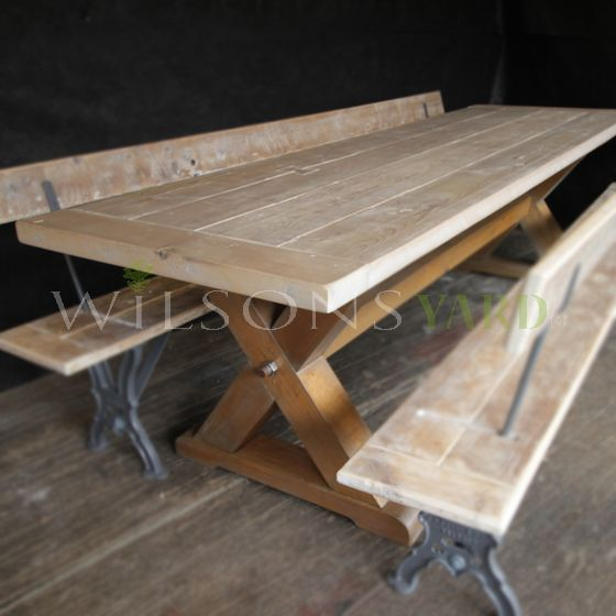 Bespoke Titanic x legged table