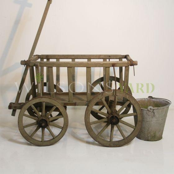 Vintage garden farm cart