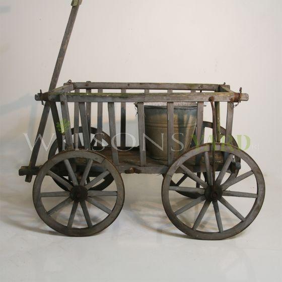 Antique French farm cart