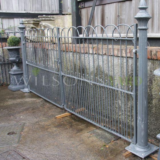 Old Irish gates with pillars