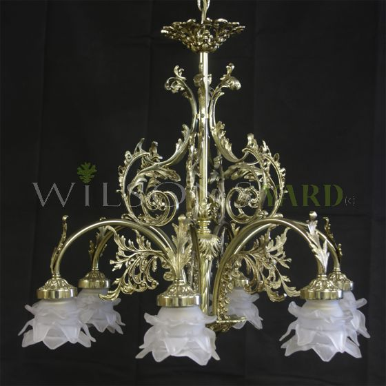 Antique chandelier Ireland