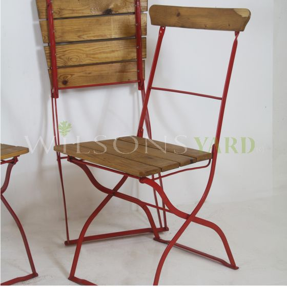 Vintage fold up chairs