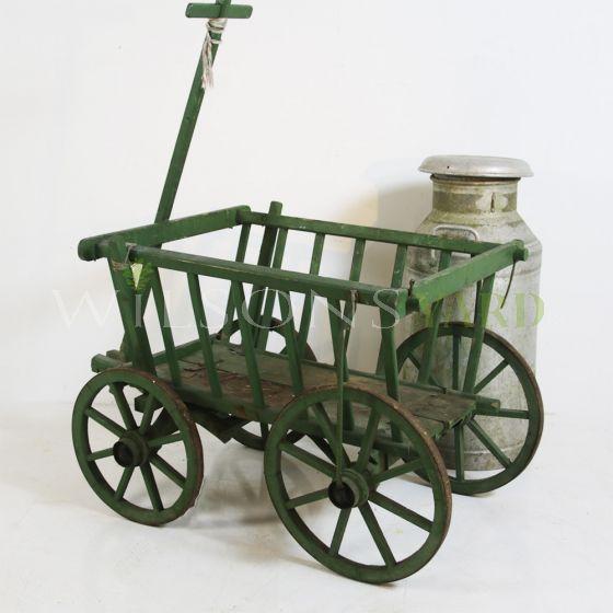 Vintage French farm cart