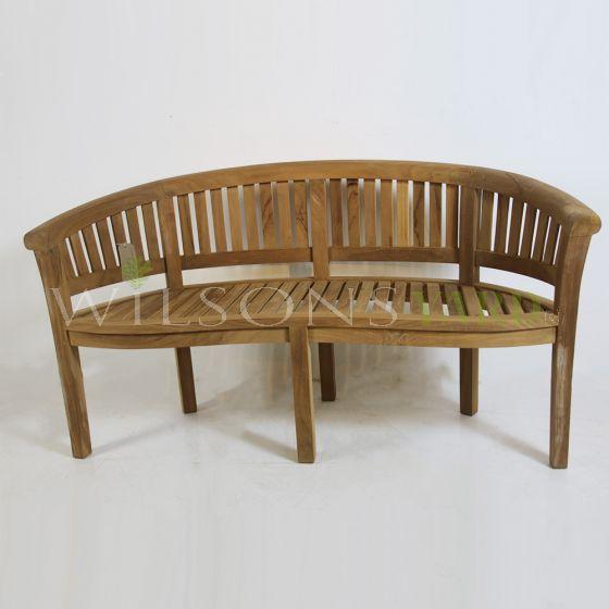 Teak garden bench seat Ireland