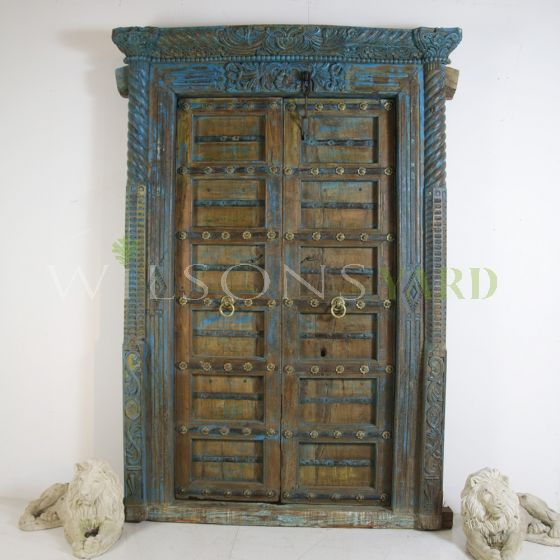 Magnificent 19th century colonial doorway