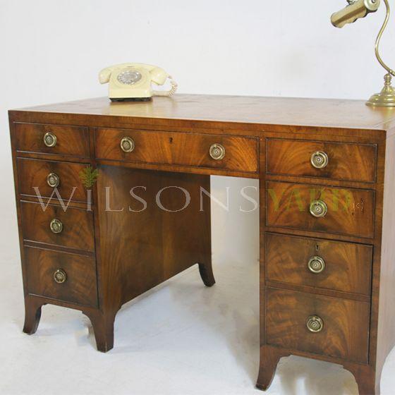 Antique Georgian style office desk