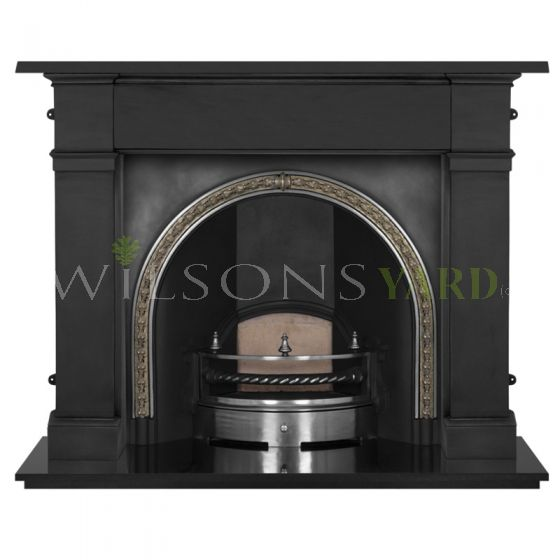 Kensington cast iron fireplace with surround