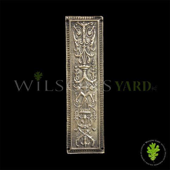 Brass Regency Finger Plate