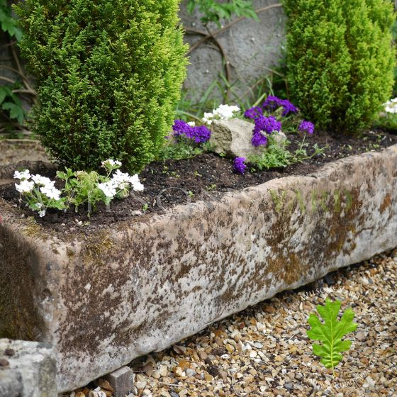 Original stone trough