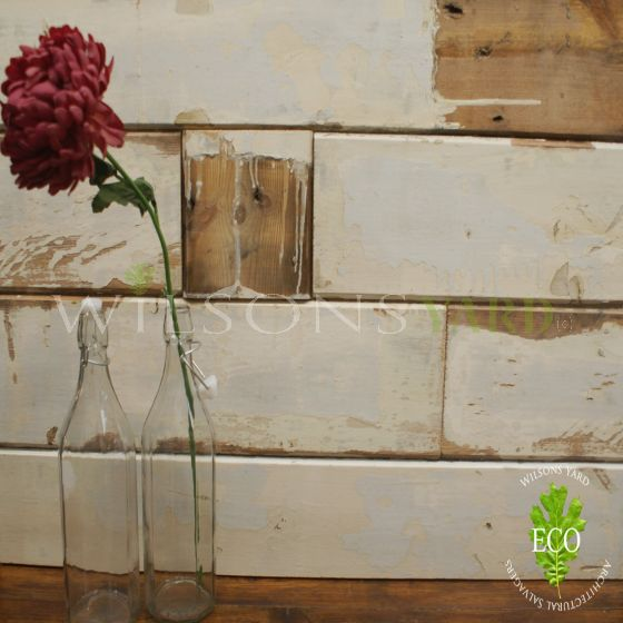 salvaged wall boards