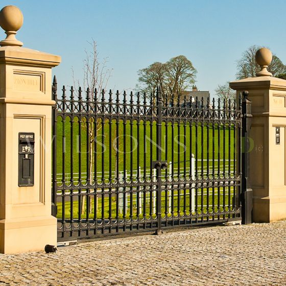 """The 12ft x 6ft11"""" Sterling Entrance Drive Way Gates"""
