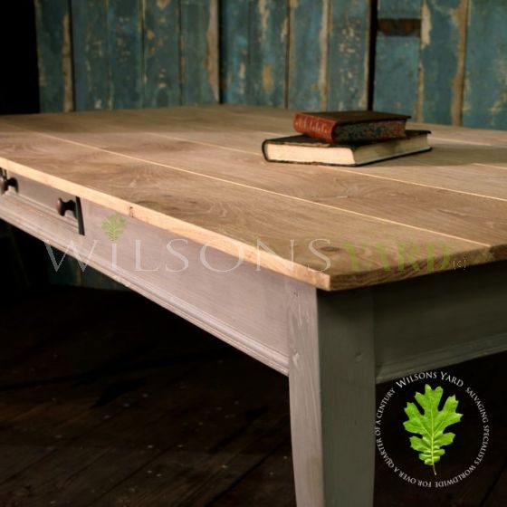 Oak Topped Dining/Kitchen Table