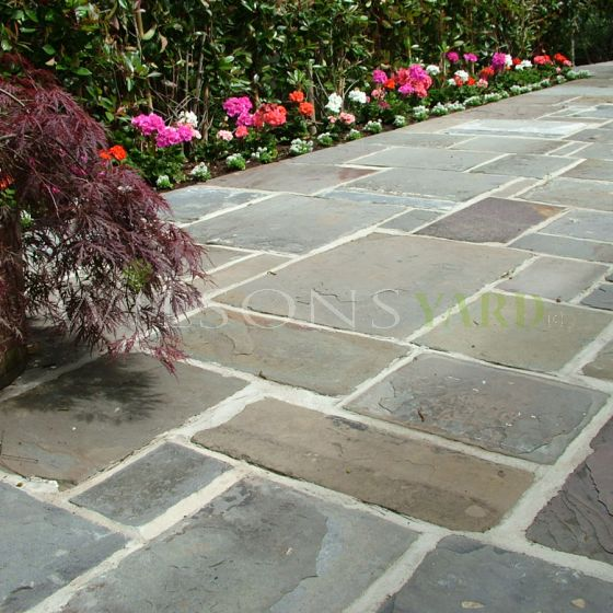 Reclaimed Welsh Pennant Paving Stone
