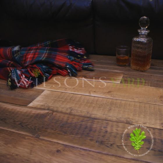 reclaimed plank timber flooring
