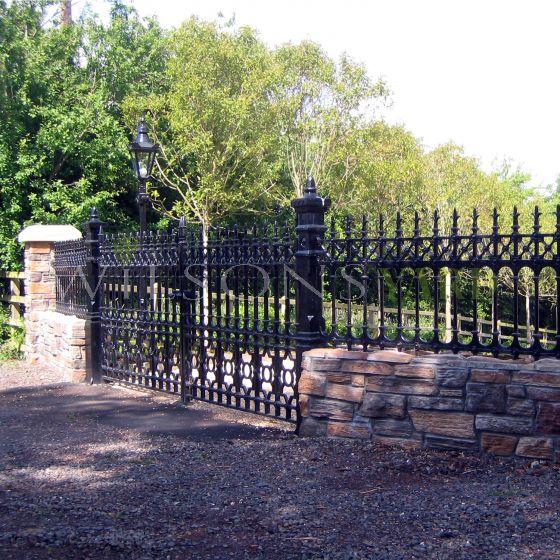 "12ft x 5ft5"" Stewart Entrance Gate"