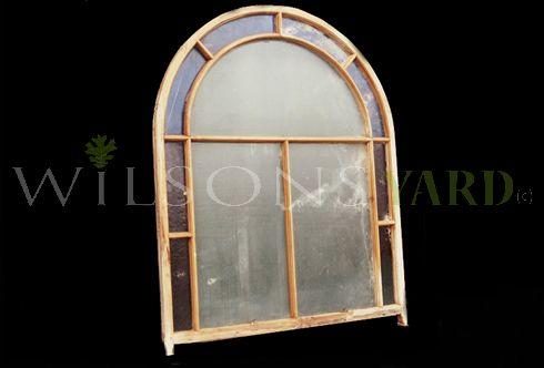Oregan Pine Fan Window