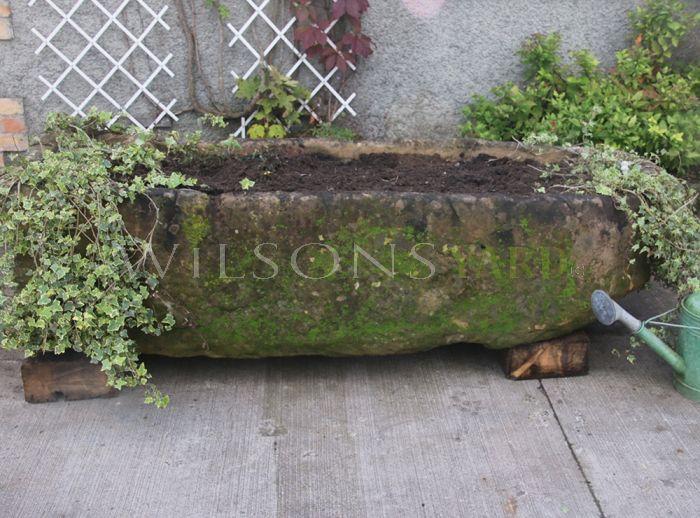 Vintage garden planter
