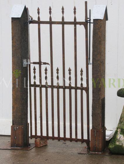 Vintage garden pedestrian gate