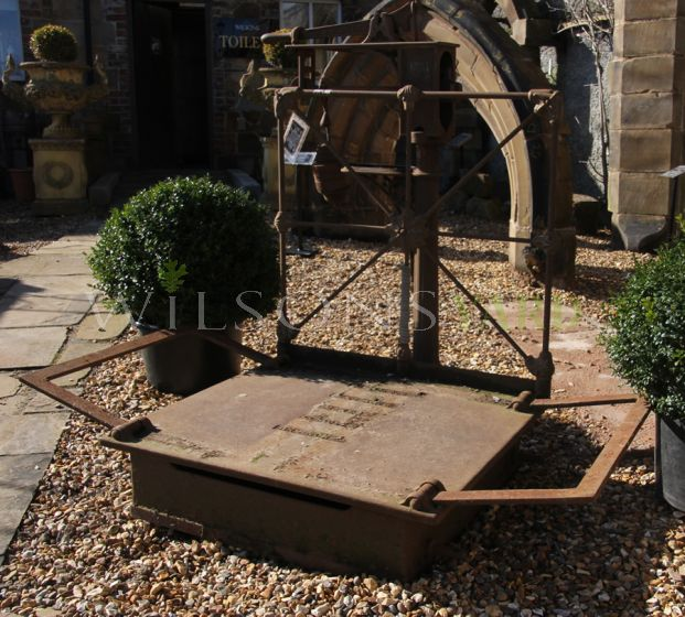 19th Century Weigh Scales Complete With Weights