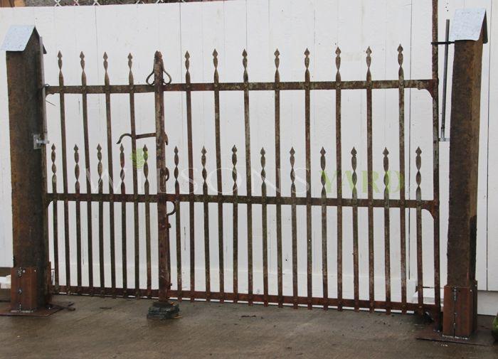 Antique farm gates